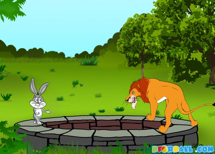 The Lion and the Rabbit- From Fables - 65.2KB